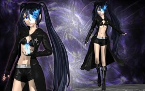 Black Rock Shooter Present by Primantis