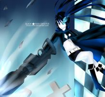 BLACK ROCK SHOOTER by Hirukuneko