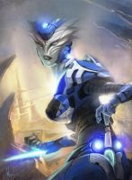 Alien soldier by black6589