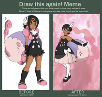 Memecember - Before and After Meme 2 by NanaRamos