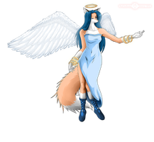 foxy Angel by Red-Indicator