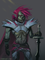 Undead Hero - Speedpainting by ConnyNordlund