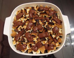 S'mores Brownies by kristollini