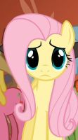 Fluttershy uncertain by JulietRarity