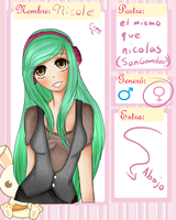 SP-Nicole (mujer) xD by CartoonCoby