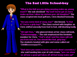 The Bad Little School-boy +004 by SissyDemi