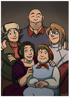 TF2: Misha and His Family by forte-girl7