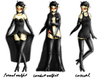 RA: Different outfits by clee3rd