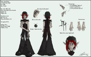 Jarral Character Sheet by kyan