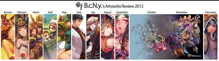 2012 review by bcnyArt