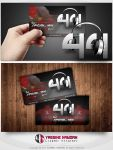 DJ 44 Business Card by Hamdan-Graphics