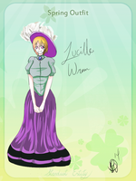 Lucille Spring Outfit by ladny