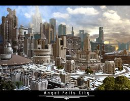 ANGEL FALLS CITY-COMMISSION by isikol