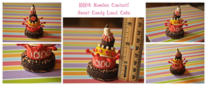 1000 Member Candy Land Cake by eserenitia