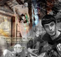 The thing between Spok and Nimoy by damylion