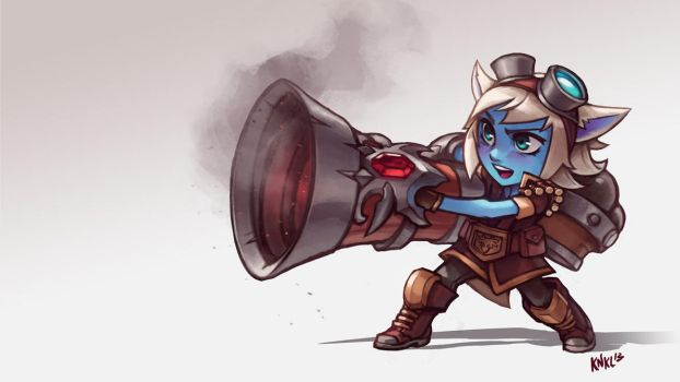 Tristana League of Legends. KNKL by KNKL
