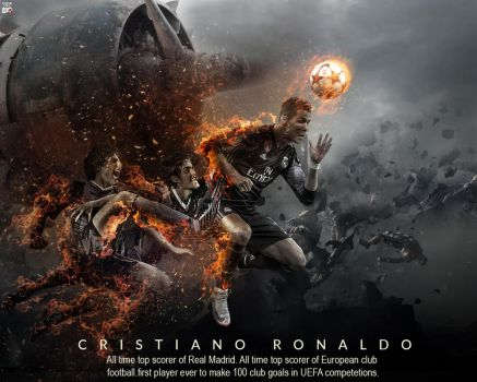 Ronaldo The Destroyer by Ropn1996