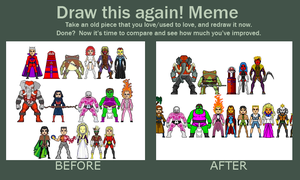 Before and After Meme: Amalgam by Red-Rum-18