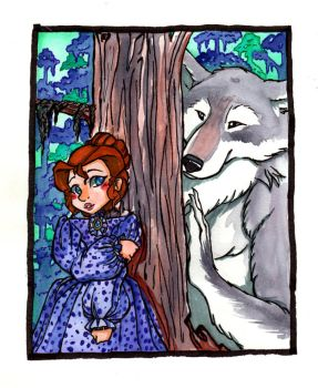 Southern Bell meets the Rougarou by Inya-spring