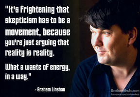 Graham Linehan on Skepticism.. by rationalhub