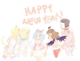 Happy New Year by moonkittyproductions