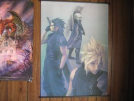 My New FF Wall Scroll by WolvenNightmare666