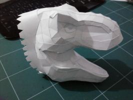T-rex head Prototype 2nd Version by Alejandr0-M