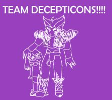 TEAM DECEPTICON by TaintedTruffle