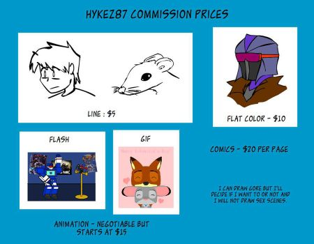 Commision Prices by hykez87