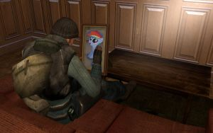My Little Dashie In Gmod by M4ng0s