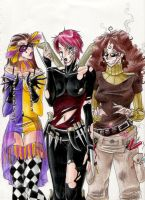 Trio of Villains by Mistress-D