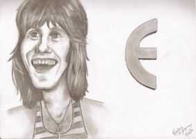 Keith Emerson Caricature by Dominoes4Syd