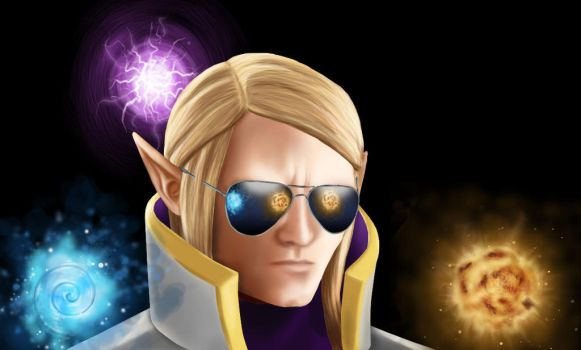 Deal with it: Invoker. by ChibiNeo