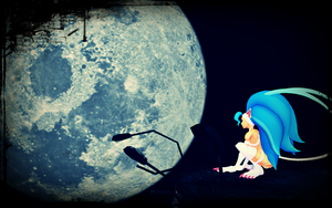 [MMD] Seeing The Moon by Aaamaizing