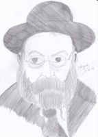 portrait Chief Rabbi by Sifriyah