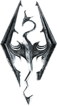 Skyrim Logo by JA-Renders