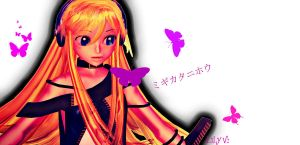 Vocaloid Cover: Butterfly on your right shoulder by CalmSnow