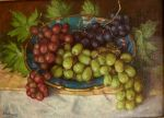grapes..oil on linen by xxaihxx
