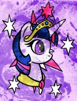 .::Cutie Mark of Magic::. by ScribbleSketchScoo