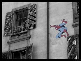 Spiderman by clairwitch