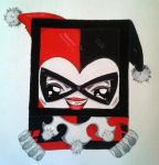 Harley Quinn by Squaracters