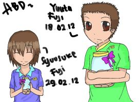HBD Fuji Brothers by v-on