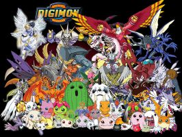 Digimon by aflakhurrozi