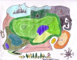 Wildale Map, without titles by FerreTrip