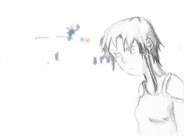 serial experiments lain by Wolfguardian