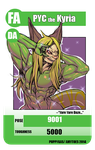 TCG PYC the Kyria Con Badge by AmyToes