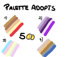 Palette Adopts by oOSchokoOo