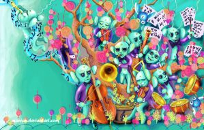 peach tree orchestra by manipu