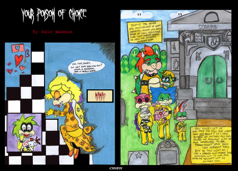 Your Poison Of Choice COMIC chapter 7 panel IV by EdieMammon
