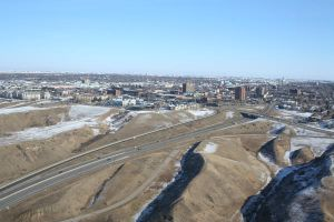 Lethbridge From Above by TheCommunistCat